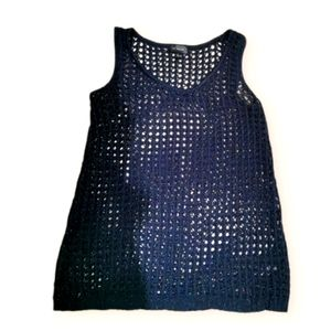 The limited open knit tanktop